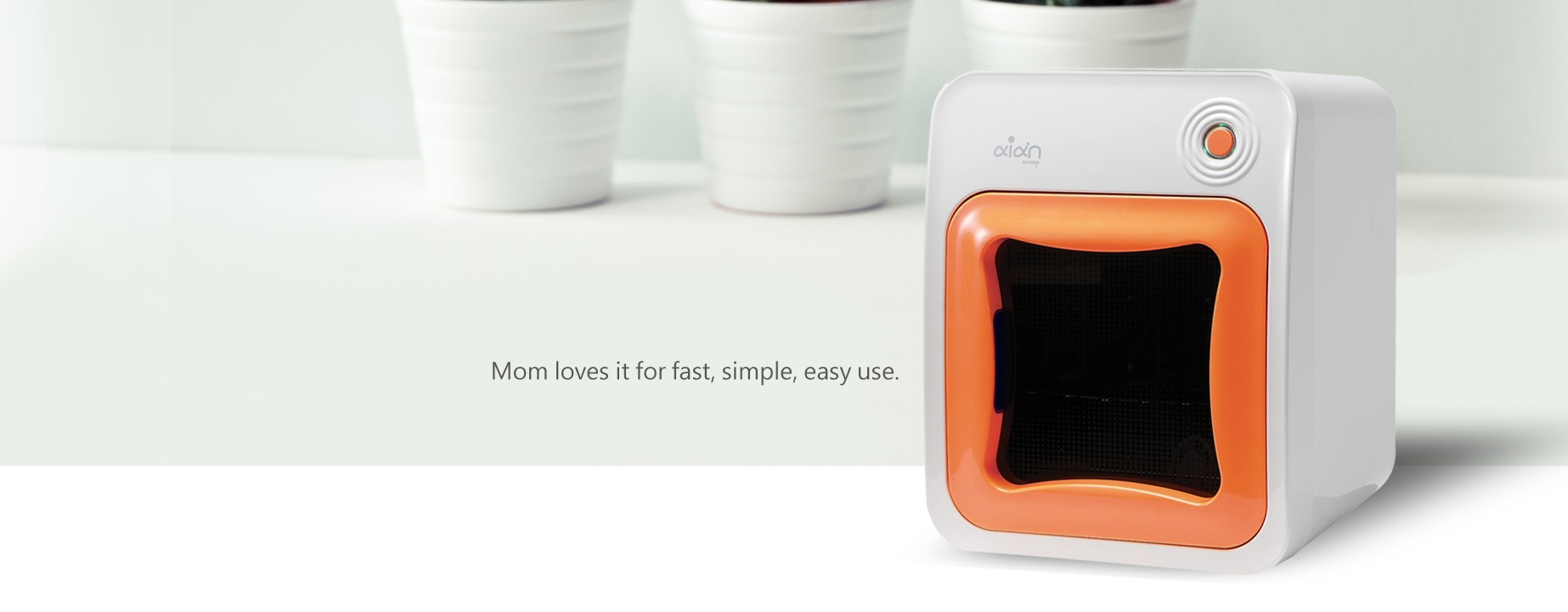 Aian Sterilizer & Dryer - Mom Loves it for fast, simple, easy use